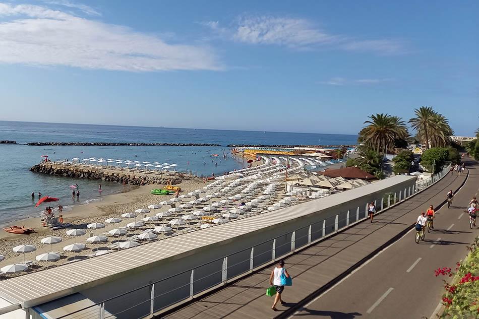 Migliori spiagge Sanremo